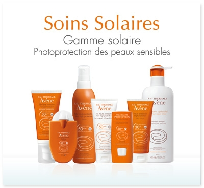 gamme solaire avene